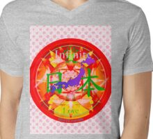 Infinite Love Series- JAPAN mandala of Love Mens V-Neck T-Shirt