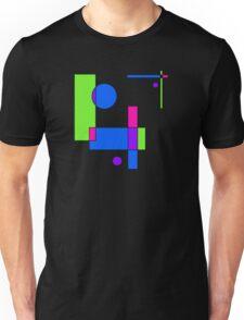 Color Blocks Green Unisex T-Shirt