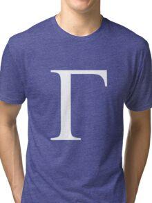 Gamma. Tri-blend T-Shirt