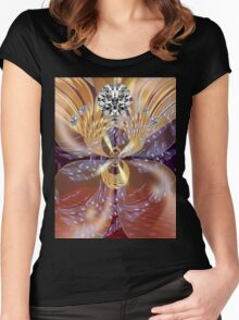 Regal Glory Women's Fitted Scoop T-Shirt
