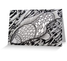 222 - BIG FISH - DAVE EDWARDS - INK - 2009 Greeting Card