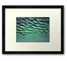 Coloured Sand Framed Print