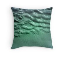 Coloured Sand Throw Pillow