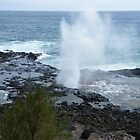 Spouting Horn blowhole in Kauai..... by DonnaMoore