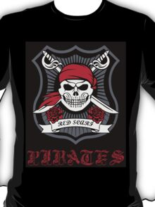 Red Scarf Pirates T-Shirt