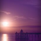 Clevedon Pier by Edward Bentley
