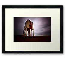 Burnham-on-Sea Lighthouse Framed Print