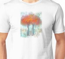 Dazzling Trees in Red, Orange, and Yellow Unisex T-Shirt