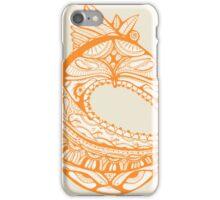 Orange Faberge Egg Henna iPhone Case/Skin