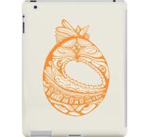 Orange Faberge Egg Henna iPad Case/Skin