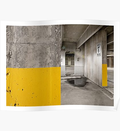 Diptych Yellow Poster