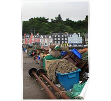 Fishing Gear at Tobermory Poster