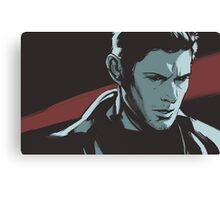 Supernatural - Demon Dean Canvas Print