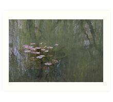 Waterlillies (Monet's Garden) Art Print