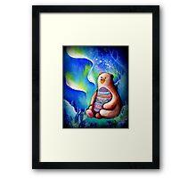 Spirit Bear Framed Print