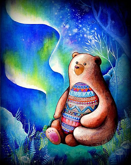 Spirit Bear by Annya Kai