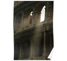 Golden Light through the Arch Poster