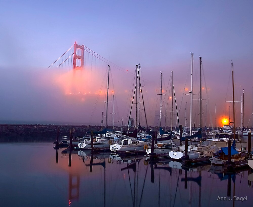 Mysterious Morning Fog by Ann J. Sagel