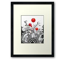 Has Anybody Seen My Zebra? Framed Print