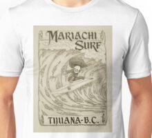 Mariachi Surf Unisex T-Shirt
