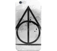 Deathly Hallows iPhone Case/Skin