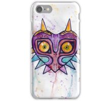 Majoras Mask Watercolour iPhone Case/Skin