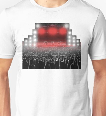 The Art of Live Music Unisex T-Shirt