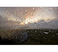 catching atlantic rain Photographic Print