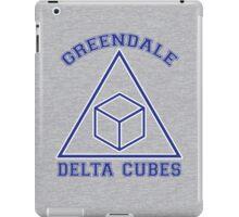 Greendale Delta Cubes Frat iPad Case/Skin