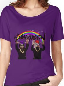 SwagQueen over the Rainbow Women's Relaxed Fit T-Shirt