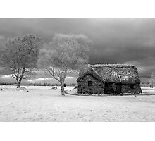 Leanach Cottage, Culloden Moor Photographic Print