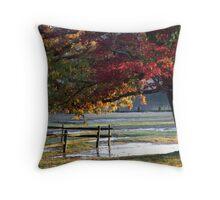 Shark River Hills Sunset Throw Pillow
