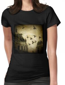 Angel's Melody Womens Fitted T-Shirt