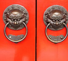 Chinese door handles by jenheal