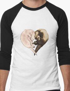 Ferret Love Men's Baseball ¾ T-Shirt