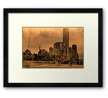 Global Warming Framed Print