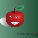 One apple a day by amak