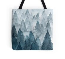 Clear Winter Tote Bag