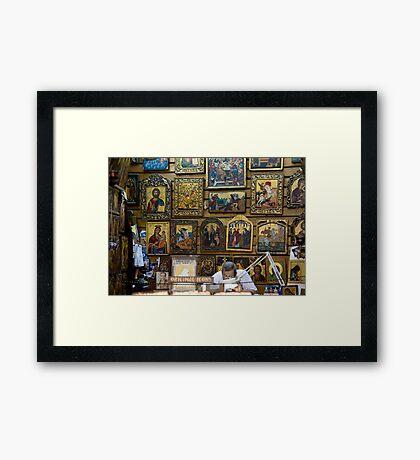 Icon Master Framed Print