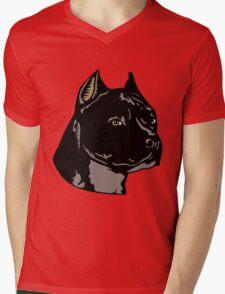 PIT BULL-4 Mens V-Neck T-Shirt