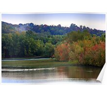 The Oxbow of the Ohio River Poster