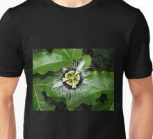 Yellow Passion Fruit Flower Unisex T-Shirt