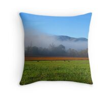 Grazin' in the Grass Throw Pillow