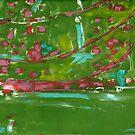 Japanese Gardens  No 6 by Susan Grissom