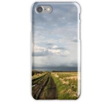The Road Is Never Easy iPhone Case/Skin
