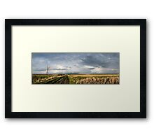 The Road Is Never Easy Framed Print