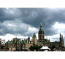 canadian parliament building!.... Photographic Print