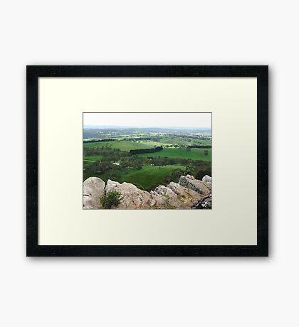 Mt Barker Summit Framed Print