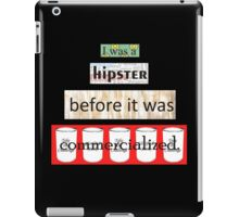 Hipster Commercialized iPad Case/Skin