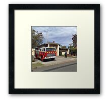 Wyong 505 Fire Station Framed Print